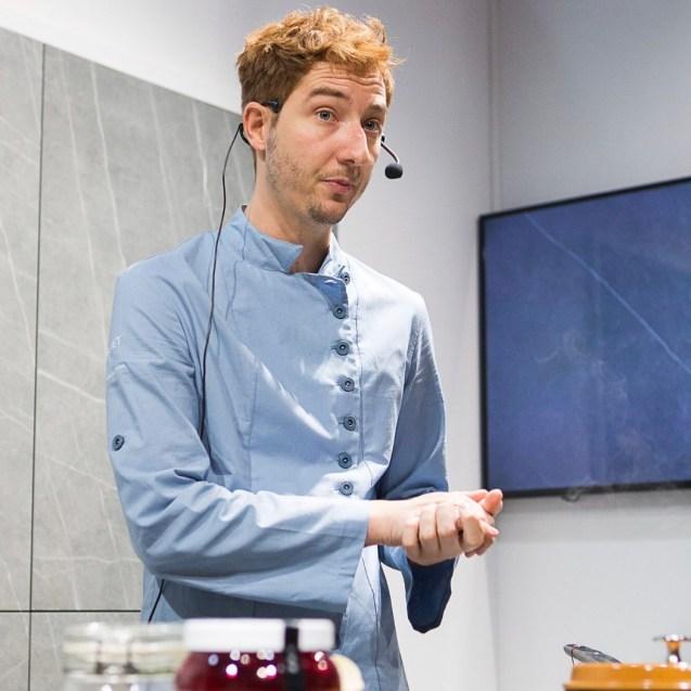 chaquetilla de cocina sostenible