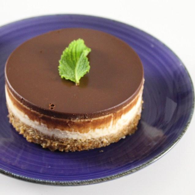 tarta tahini chocolate