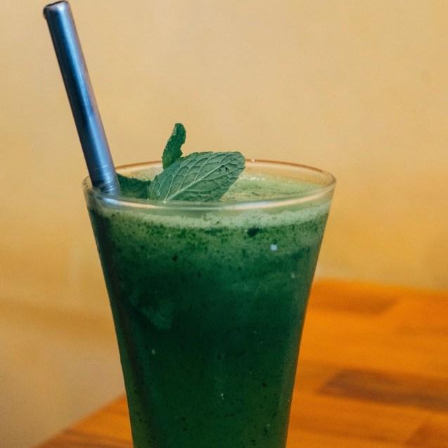 bebidas de hierbabuena arabes