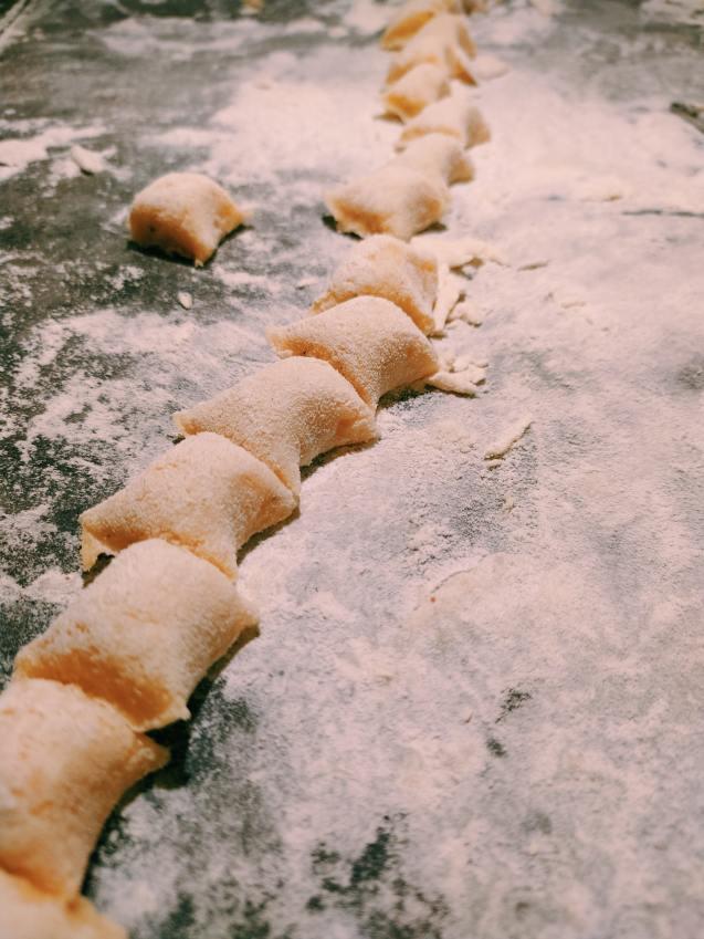 ñoquis gnocchi zanahoria caseros