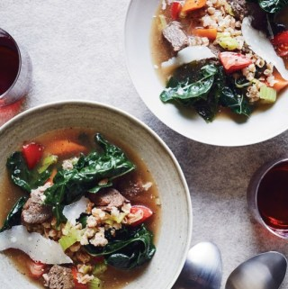 Hugh Atkinson's Beef and Farro Soup Recipe
