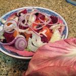 Citrus Salad with Pink Radicchio