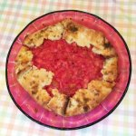 Rhubarb and Candied Ginger Crostata from Food and Wine