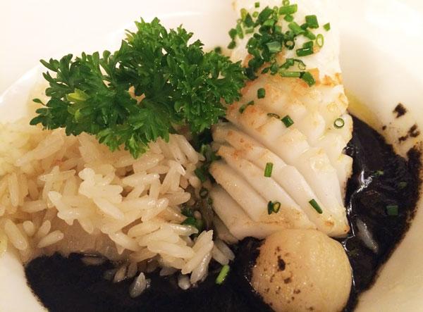 Fish and Rice at La Viridiama