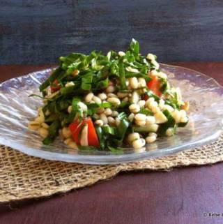 Barley Spinach Salad
