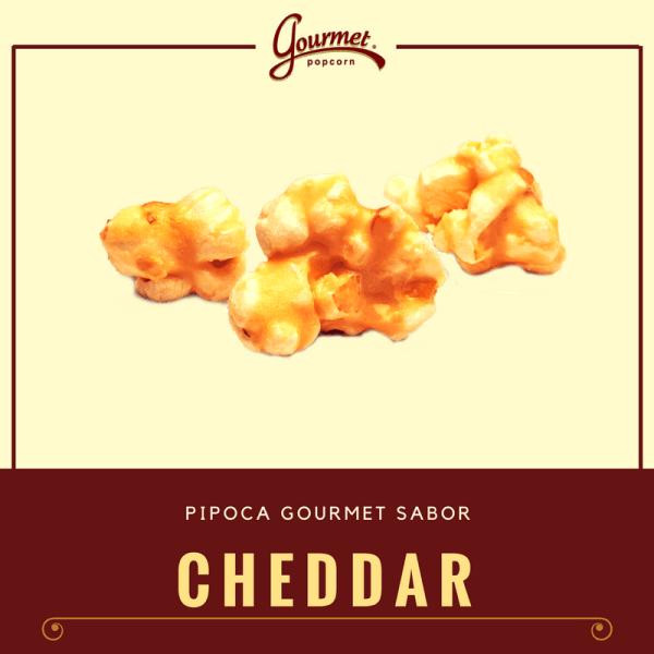 Comprar Pipoca Gourmet sabor Cheddar