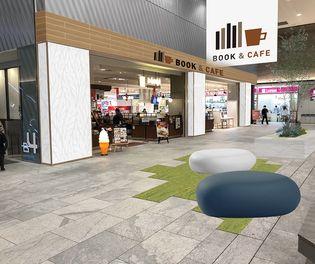 MARK IS みなとみらい 開業5周年 リニューアル第二弾 B4F 駅直結フロアに新エリア『BOOK&CAFE』が登場!
