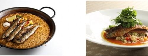 旬の食材を使用した目にも鮮やかなメニューが勢ぞろい!!BIKiNiから、スペインの夏を感じる期間限定メニュー販売