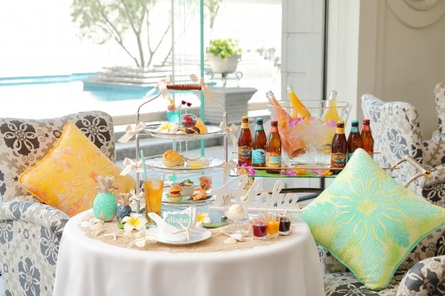 ホテル ラ・スイート神戸ハーバーランド 気分はロコガール!ハワイの風を感じるAloha!! Hawaiian Afternoon Tea
