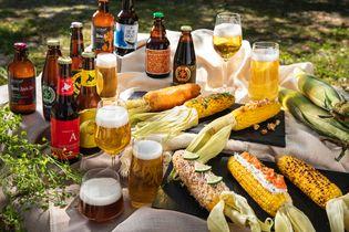 星野リゾート トマム(北海道勇払郡占冠村) 夏の北海道でビール片手にトウモロコシを 丸かじり「とうきビアガーデン」夏限定でオープン 実施期間:2018年7月1日〜8月31日