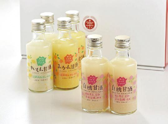 岡山フルーツ甘酒セット