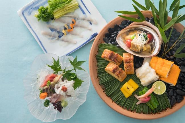 【ザ・キャピトルホテル 東急】日本料理 水簾「鱧」・「鮑」特別メニューのご案内
