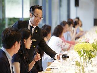 ワイン醸造家 池野美映氏(いけの・みえ)を迎えて ワインの魅力を体感する、メーカーズディナーを開催しました