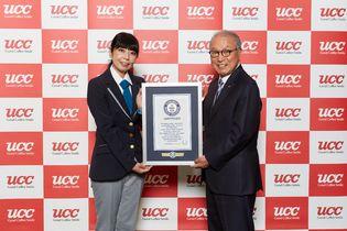 『UCC ミルクコーヒー』がギネス世界記録(R)に認定  販売期間49年のロングセラー製品として世界No.1 缶コーヒーの最長寿ブランドに認定