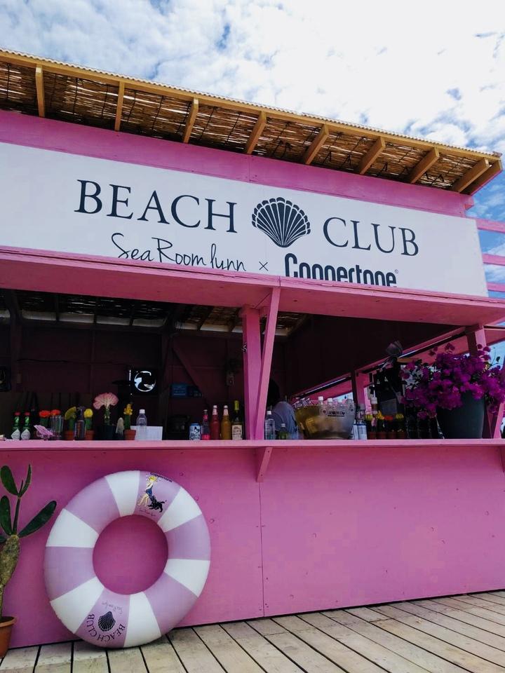 今年もピンクが目印!「SeaRoomlynn beach Club」海の家が6月29日(金)に逗子海岸にオープン!