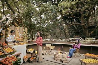 星野リゾート リゾナーレ熱海(静岡県熱海市) 柑橘の街、熱海で楽しむ手軽なアウトドア体験 「フルーツバーベキュー」を開催 開催期間:2018年11月1日〜11月30日