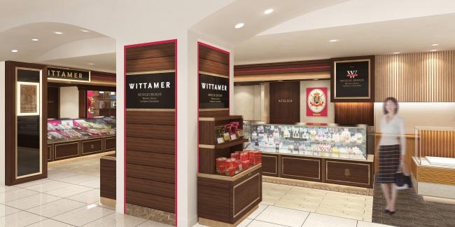ベルギー王室御用達チョコレートブランド 「ヴィタメール」日本橋髙島屋店がリニューアルオープンいたします