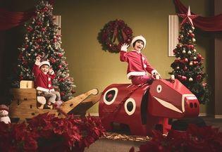 星野リゾート 磐梯山温泉ホテル(会津・磐梯エリア) 「赤べこクリスマス」開催 会津の郷土玩具「赤べこ」をテーマにした 「べこジェニック」なクリスマスイベント 期間:2018年12月7日~25日