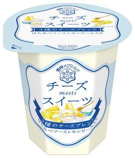 【雪印メグミルク】 『チーズmeetsスイーツ 4種のチーズブレンド』110g  2018年9月25日(火)より全国にて新発売