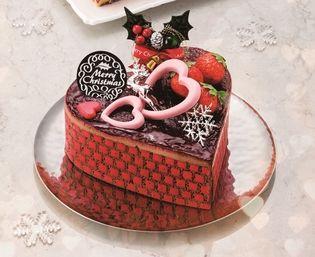 幸せな気持ちがあふれる日 「LOVE ~愛があふれるクリスマス~」 2018年 東急百貨店のクリスマスケーキ