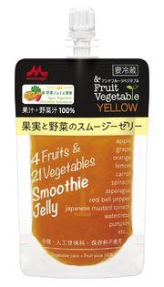 日本野菜ソムリエ協会、森永乳業から販売「&フルーツベジタブル  果実と野菜のスムージーゼリー YELLOW/GREEN」の開発を監修