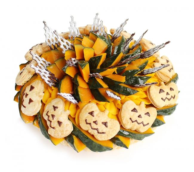 秋の素材を詰め込んだ!カフェコムサの期間限定ハロウィンケーキ
