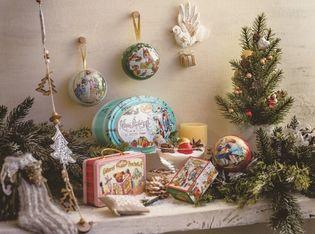 カファレル、クリスマス限定コレクションを11月2日発売! クリスマスを楽しむ小さな姉弟や動物達を描いた物語オーナメント