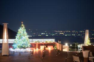 星野リゾート ロテルド比叡 (京都府・比叡山) 夜景と湖を望む空間でクリスマスを楽しむ 「山床クリスマス2018」が開催 期間:2018年12月1日〜25日