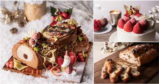 <フランス人パティシエ監修> クラシカルなブッシュ・ド・ノエル等「2018年 クリスマスケーキ」 2018年10月22日(月)より予約受付開始 ホテル阪急インターナショナルにて