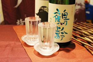 純米吟醸「鶴齢」