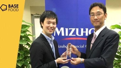 ベースフード株式会社が「Mizuho Innovation Award」を受賞