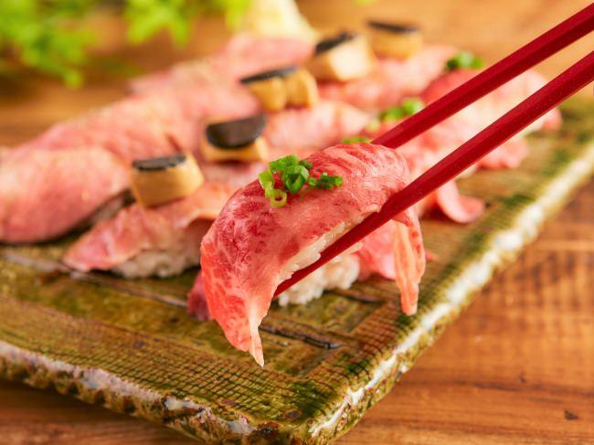 """【11月29日""""いい肉の日""""】「大宮 肉寿司」で『肉寿司食べ放題』が11月14日より期間限定1,980円で提供!"""