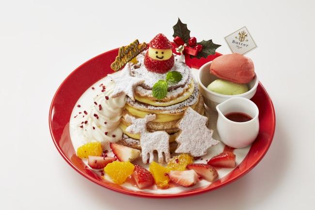 Butterが贈る、ホリデーシーズンならではのクリスマスパンケーキが登場 みんなで美味しく楽しもう!『Butter Chirstmas』スタート