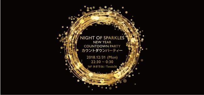 【スイスホテル南海大阪】 平成最後のカウントダウン!ホテルのパーティーで特別な夜を過ごそう