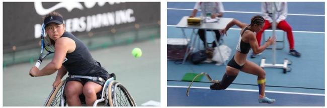 世界で活躍しているパラリンピアン上地結衣選手(車いすテニス)、中西麻耶選手(パラ走り幅跳び)とパートナーシップ契約合意
