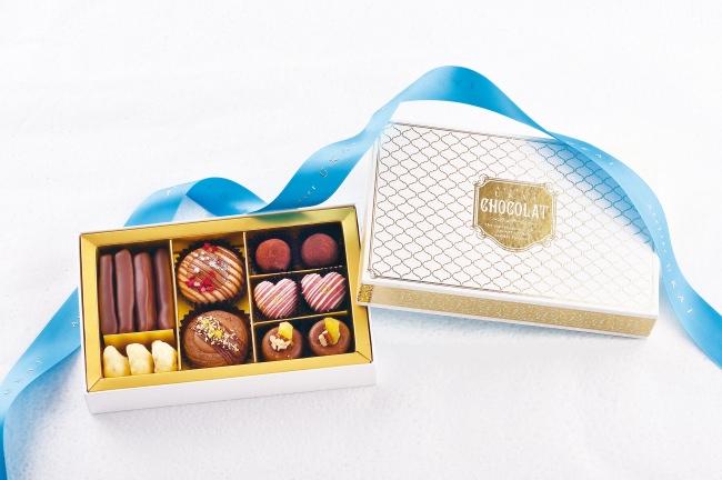 「アトリエうかい」のクッキーの世界を広げるショコラコレクション2018-2019~新商品「ショコラ ジュエリーBOX」は 1月10日(木)から発売開始~