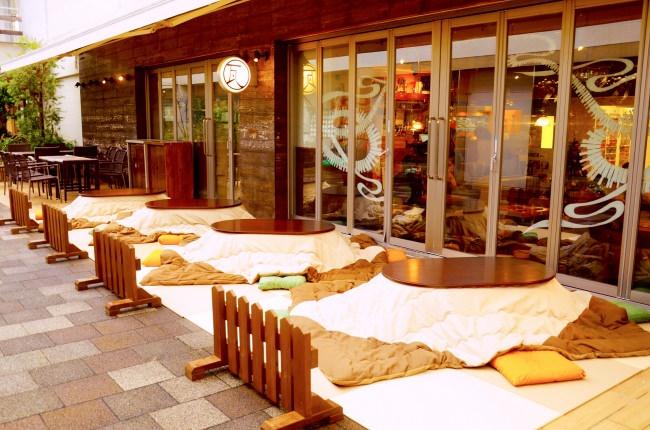年越し蕎麦をこたつで味わう!錦糸町駅直結のkawara CAFE&DININGで「瓦蕎麦」付きのこたつ席プランを販売中