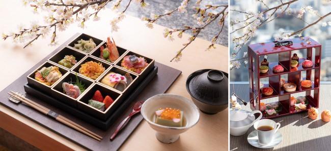 【コンラッド大阪】桜満開の「桜プロモーション」を開催