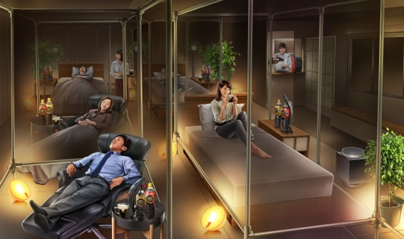 あの「睡眠カフェ」が常時営業を開始!!良質な仮眠・睡眠を体験できる「ネスカフェ 睡眠カフェ」3月18日の睡眠の日にちなみ、3月6日(水)より東京・大井町でオープン!