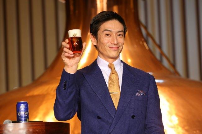 『ヱビス プレミアムエール』新CM発表会伊勢谷 友介がプライベートを告白!「休日はスノボとビールの余韻を愉しむのが幸せ」平成は「ビールのように香り高く、コク深い年」と振り返る