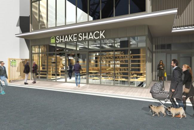 高級宇治抹茶を贅沢に使用した、Shake Shack 京都四条烏丸店限定のシェイク&コンクリートが登場!