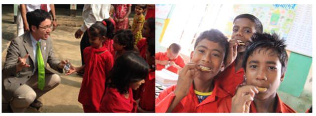 バングラデシュにおける栄養問題の解決に向けて!ユーグレナ入りクッキーをバングラデシュで配布する「ユーグレナGENKIプログラム」の対象商品をグループ全商品に拡大します