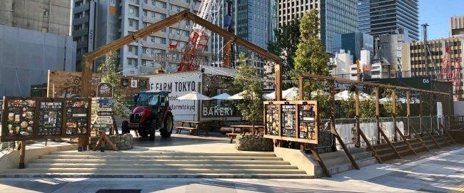 ワクワクできる食体験を提供する緑あふれる都会の屋外型飲食施設「THE FARM TOKYO」をグランドオープン