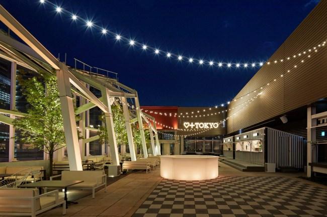 銀座のミュージックラウンジ「PLUSTOKYO」がルーフトップでの特定遊興飲食店営業許可を取得