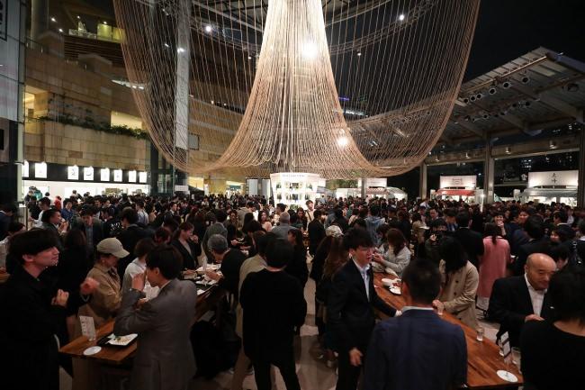 中田英寿をはじめとした日本酒の専門家が全国数百種類の日本酒を利き酒し、選び抜かれた酒蔵のみが参加「CRAFT SAKE WEEK at ROPPONGI HILLS 2019」