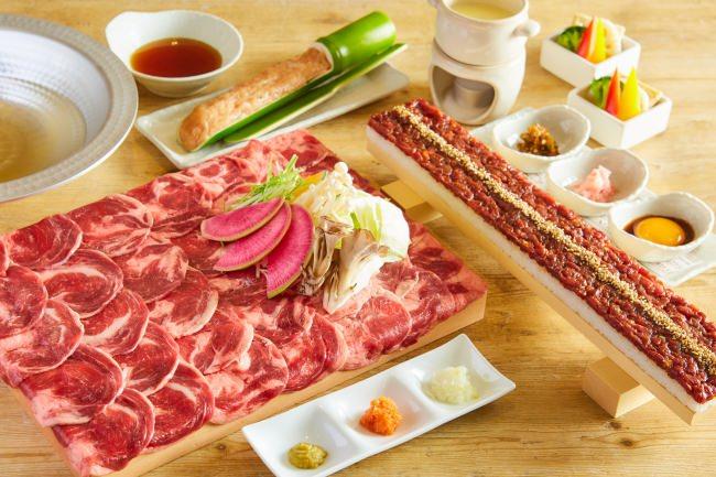 ヘルシーでフォトジェ肉な牛タン専門店『うま囲』が浦和に5/15オープン!記念キャンペーンとしてタンしゃぶ&ロングユッケ寿司が