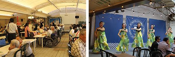 2019年6月1日のオープンに先駆け 高齢者福祉施設の皆様を「クレメントガーデン」にご招待 2019年5月31日(金)JRホテルクレメント徳島にて