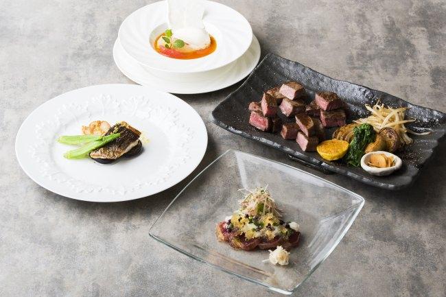 「ステーキ4種食べ比べコース」イメージ写真