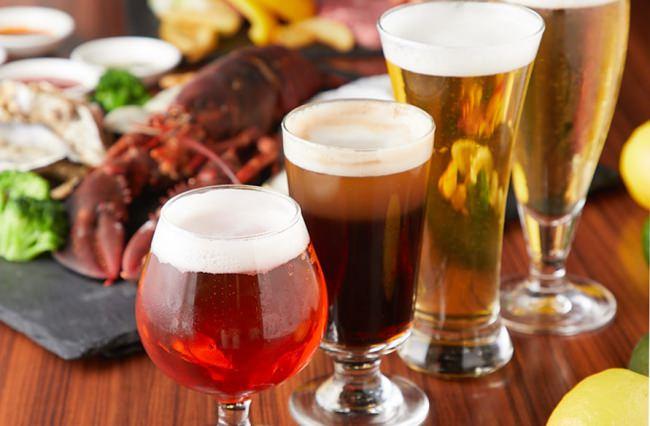1コイン(500円)で4種類のクラフトビールを飲み尽くし!豪華オマール海老付きBBQセットで、贅沢BBQを田町 AOHAMA店で開催♪