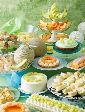 【サンシャインシティプリンスホテル】 瑞々しく甘い夏の祭典「メロンスイーツフェア」開催